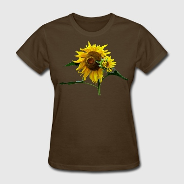 Floral Sunflower And Baby - Women's T-Shirt