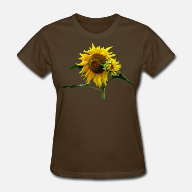 Floral Design Sunflower And Baby - Women's T-Shirt