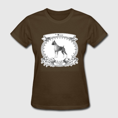 Purebred Dogs The Boxer 1800 - Women's T-Shirt