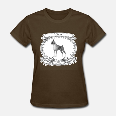 Purebred Dog The Boxer 1800 - Women's T-Shirt