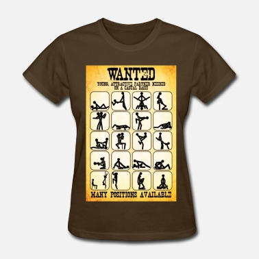 Fun Wanted Sex Poster - Women's T-Shirt