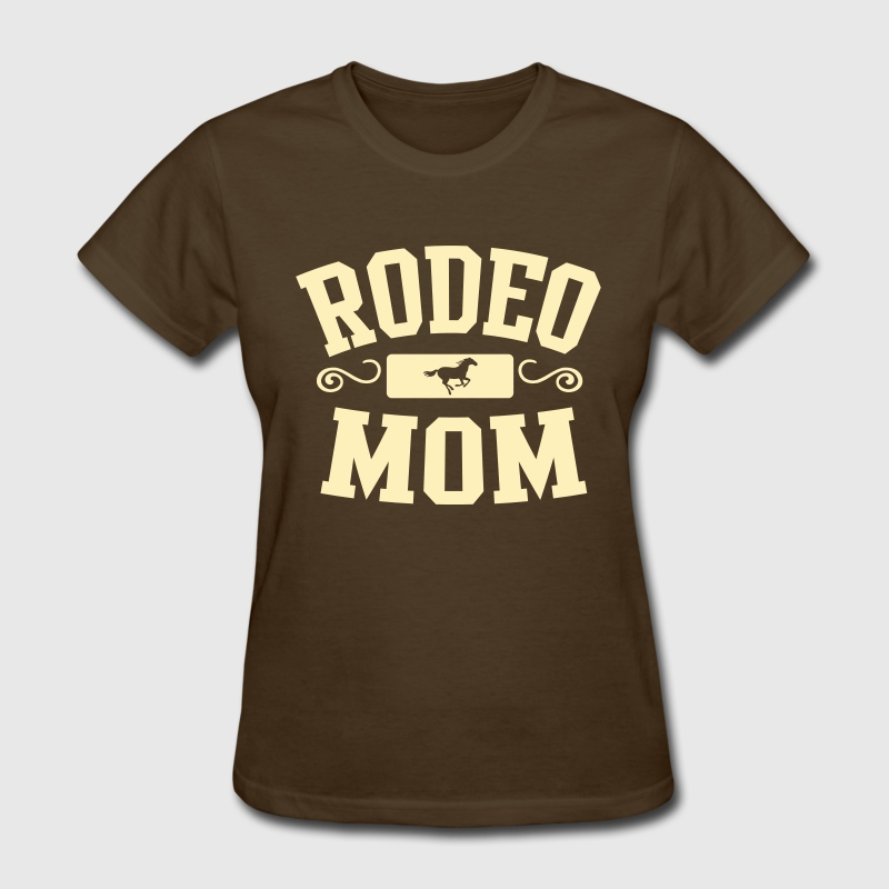 rodeo mom - Women's T-Shirt