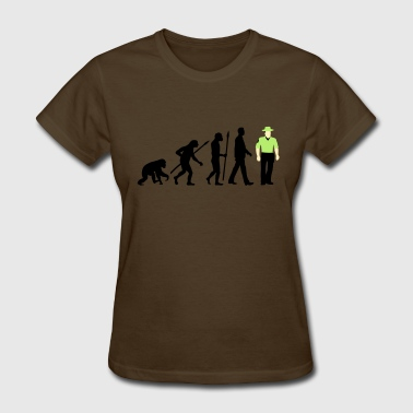 Marshall Law evolution_b_us_cop_police_marshall_09_20 - Women's T-Shirt