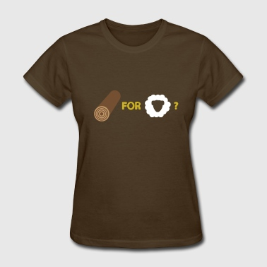 Wood For Sheep Wood For Sheep - Women's T-Shirt