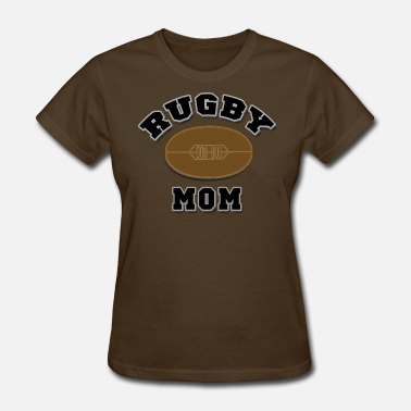 Rugby Mom Womens Rugby Mom - Women's T-Shirt