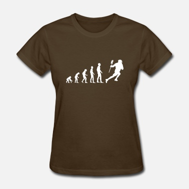 Evolution Of Lacrosse Evolution Lacrosse - Women's T-Shirt