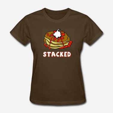 Pancake stacked pancakes - Women's T-Shirt