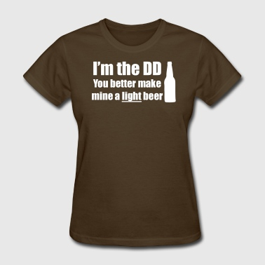 Designated Driver Light Beer Only Shirt - Women's T-Shirt