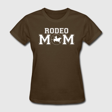 Rodeo Mom bull rider - Women's T-Shirt