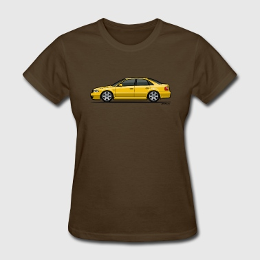Audi S4 B5 Quattro Imola Yellow - Women's T-Shirt