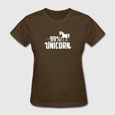 99% Unicorn 99 Unicorn - Women's T-Shirt