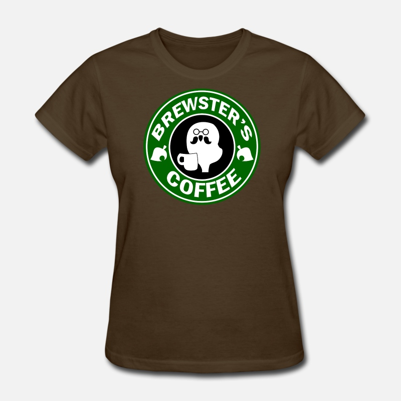 Isabelle T-Shirts - Brewster's Coffee - Women's T-Shirt brown