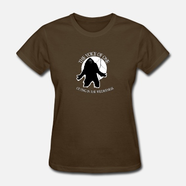 Bigfoot Sasquatch Yeti Yowie cry.png - Women's T-Shirt