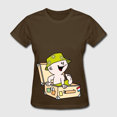 Baby suitcase - Women's T-Shirt