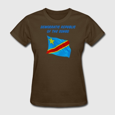 Congo Flag - Women's T-Shirt