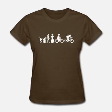 Bicycle Evolution Womens Cycling Evolve Bicycle Evolution Women's Cycling - Women's T-Shirt