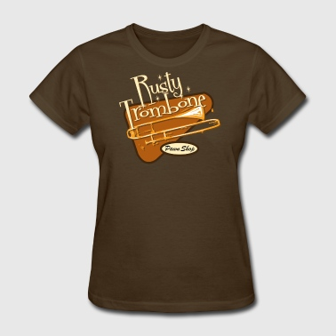 Rusty Trombone Rusty Trombone Pawn Shop - Women's T-Shirt