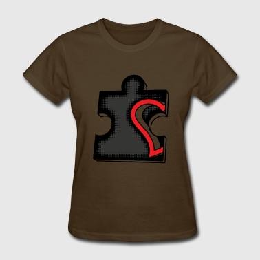 heart puzzle - Women's T-Shirt
