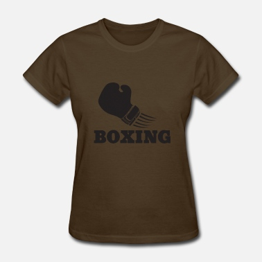 Ring Sport Boxing Gloves Sport Fight Ring Boxer Training - Women's T-Shirt