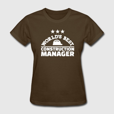 Construction manager - Women's T-Shirt