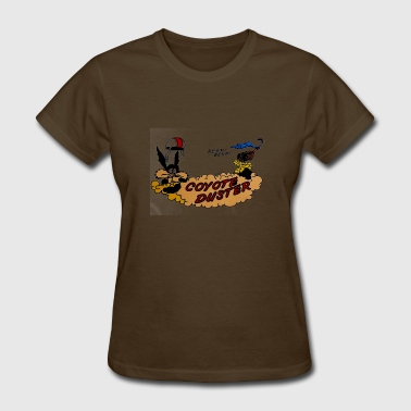 Brand NEW COYOTE DUSTER Logo nascar nhra scat cuda - Women's T-Shirt
