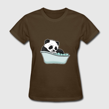 Bathtub panda - Women's T-Shirt