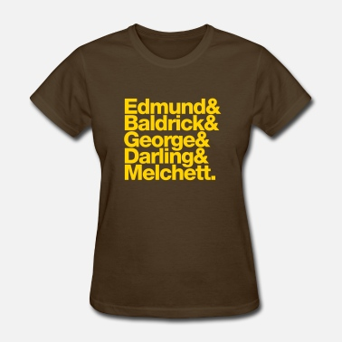 Blackadder Edmund and Friends - Women's T-Shirt