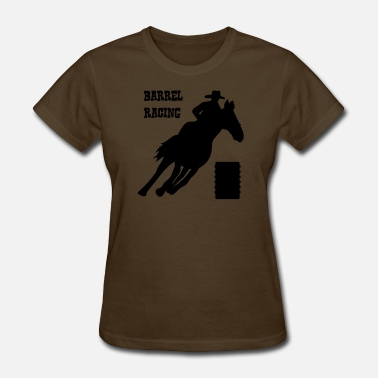 Barrel Racing Kids Race Barrel Racing - Women's T-Shirt