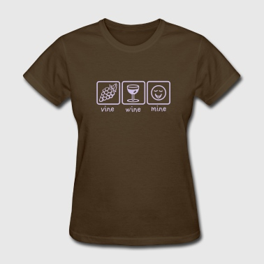 Vine Wine Mine - Women's T-Shirt