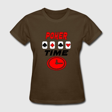 Time Tunnel poker time - Women's T-Shirt