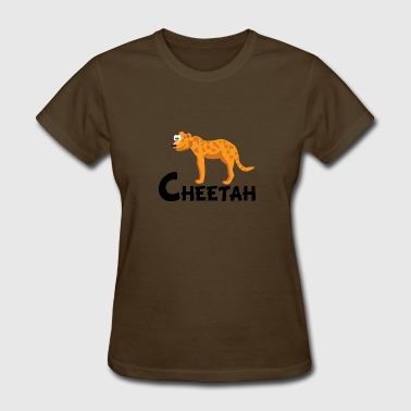 Cheetahs Cartoon Cheetah - Women's T-Shirt