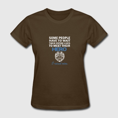 Police Officer's Mom - Police Mom - Women's T-Shirt