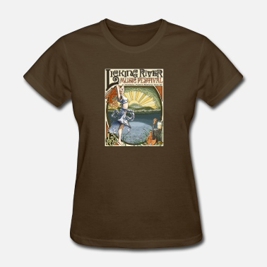 Americana Licking River Music Festival - Women's T-Shirt