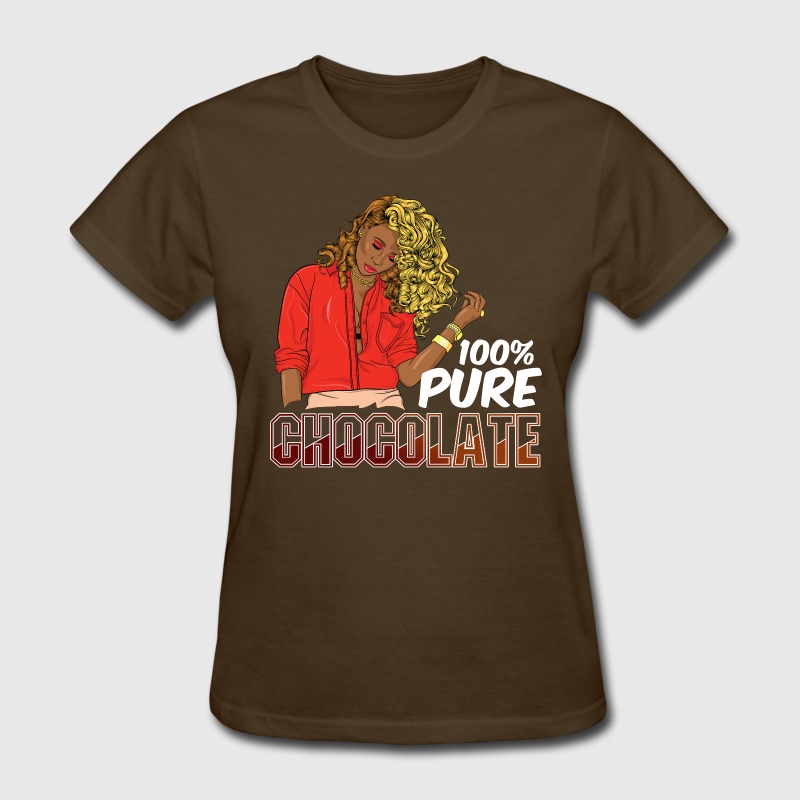 100% Pure Chocolate - Women's T-Shirt
