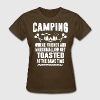 Camping - Where Friends And Marshmallow Get.... - Women's T-Shirt