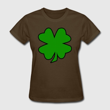 Four Leaf Clover - Women's T-Shirt