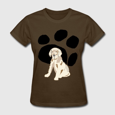 Geeting Grown Up Paws - Women's T-Shirt