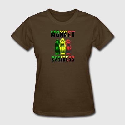 Monkey Business - Women's T-Shirt