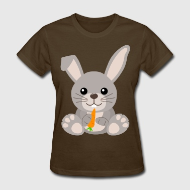 Cute Baby Bunny Rabbit - Women's T-Shirt