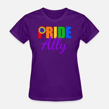 Gay Allie Gay Pride Ally - Women's T-Shirt