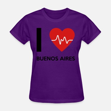 I Love Buenos Aires I Love Buenos Aires - Women's T-Shirt