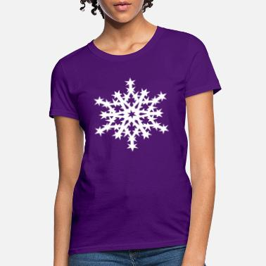 paper snowflake stencil dye purple snowflake shirt bleach dye shirt paper snowflakes shirt Snowflake tee purple dolman sleeve top