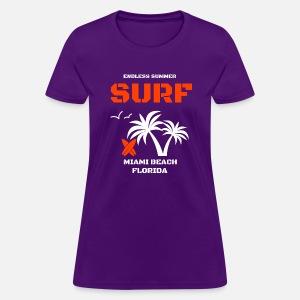 ebab1139c91 Endless Summer Surf Women s Vintage Sport T-Shirt