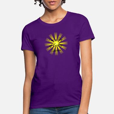 Curse Profanity I am a Ray of Fucking Sunshine - Women's T-Shirt