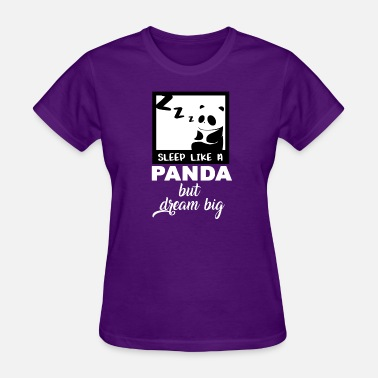 Sleeping Panda Panda Sleep - Women's T-Shirt