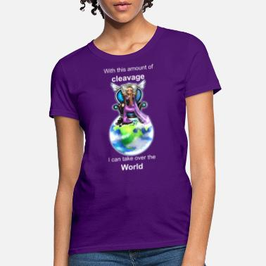 Cleavage cleavageWorld - Women's T-Shirt
