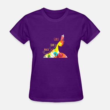 Magic Girls Girls love magic - Women's T-Shirt