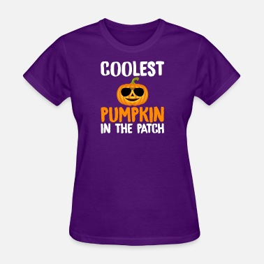 Patch Coolest Pumpkin in the Patch - Women's T-Shirt