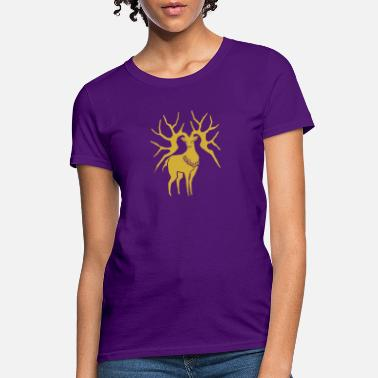 Three Hauses Golden Deer Emblem - Women's T-Shirt