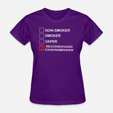 Anti-smoking Anti Smoking Funny Gift T Shirt - Women's T-Shirt